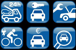 Service Symbole